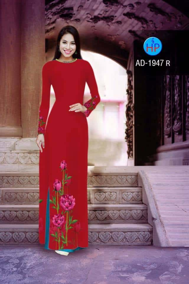 vai-ao-dai-in-hinh-hoa-hong-mau-do