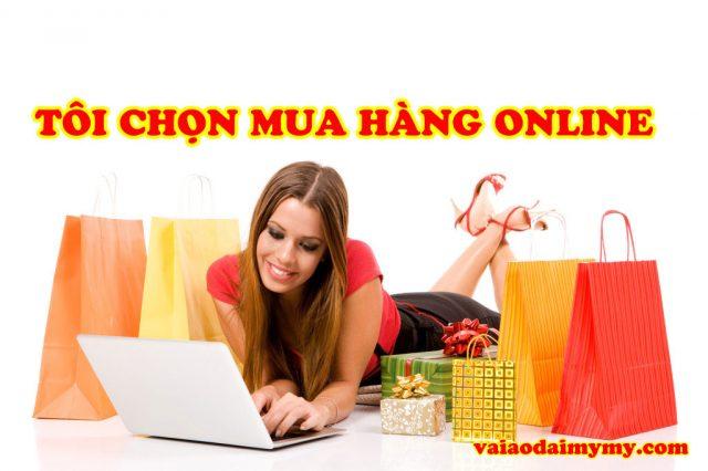 mua vải áo dài online