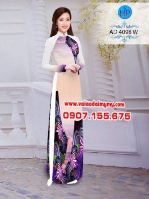 vải áo dài in hình hoa văn đẹp (1)
