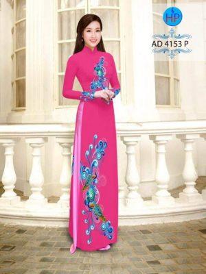 vải áo dài in hình hoa ảo đẹp trên dưới (1)