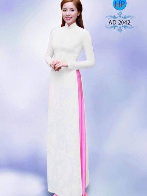 vải áo dài học sinh màu trắng (20)