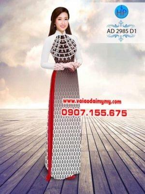 Áo dài Ngọc Khuê Các AD 2985