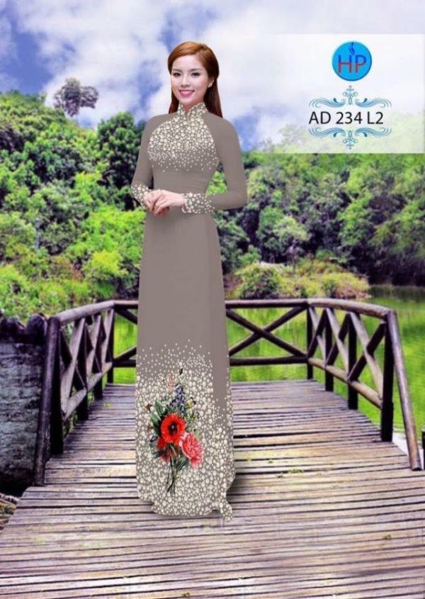Áo dài Ngọc Khuê Các AD 234