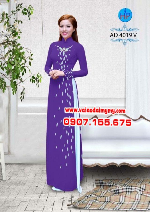 Áo dài Ngọc Khuê Các AD 4019