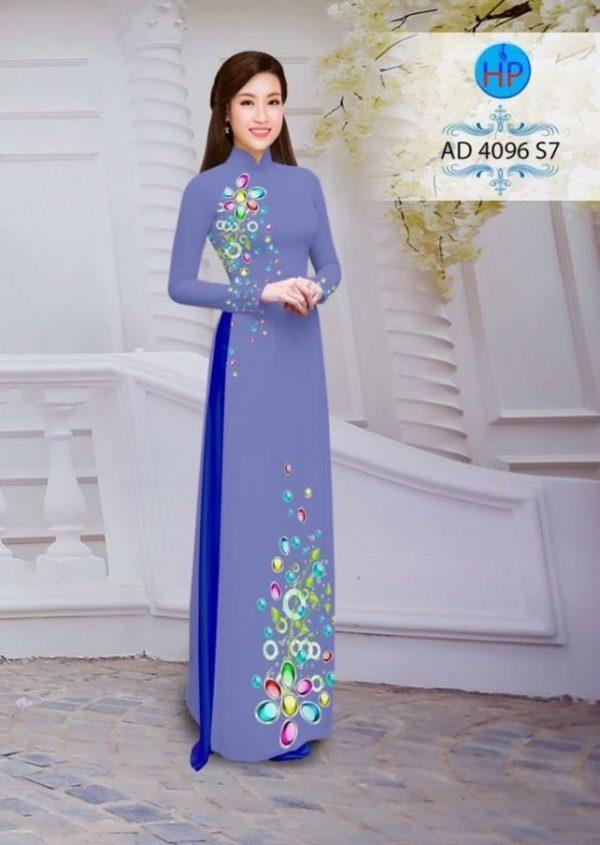 Áo dài Ngọc Khuê Các AD 4096