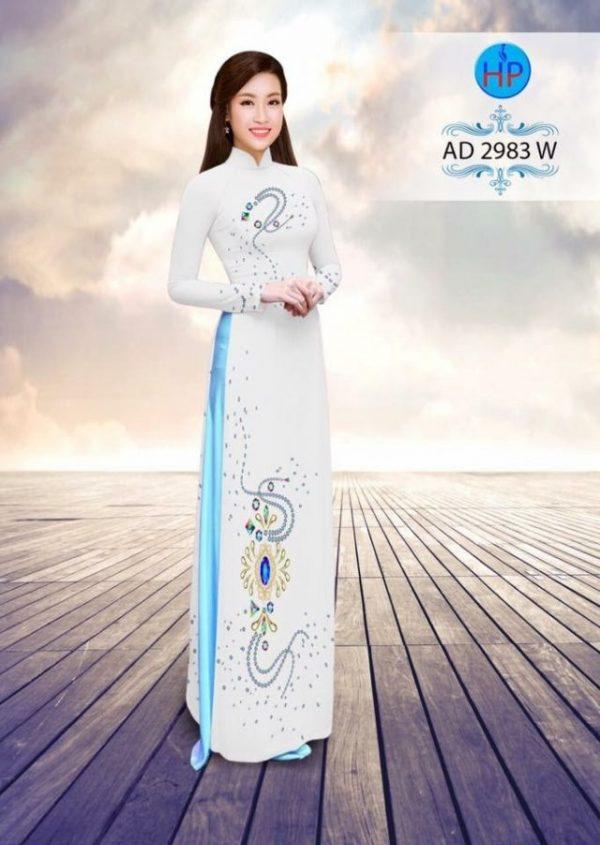 Áo dài Ngọc Khuê Các AD 2983