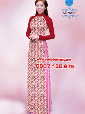 Vải áo dài hoa nhỏ toàn thân AD 900