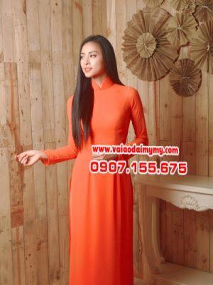 áo dài màu cam