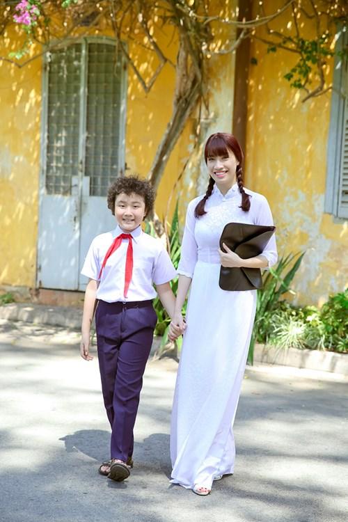 vải áo dài giáo viên