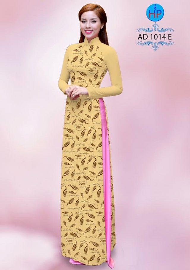 Vải áo dài hoa nhỏ nhí toàn thân AD 1014