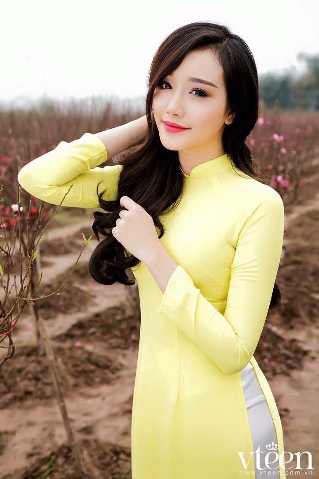 30 Mẫu áo Dài Một Màu đẹp Rạng Rỡ Vải áo Dài My My