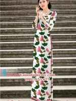 Vải áo dài hoa đều đẹp AD PHAD 2564