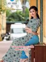 Vải áo dài Cô Ba Sài Gòn AD 3850