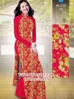 Vải áo dài Hoa Mai AD 3723