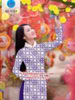 Vải áo dài Cô Ba Sài Gòn AD 5204