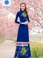 Vải áo dài Hoa Lan AD N2647
