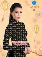 Vải áo dài Hoa mai AD 5072
