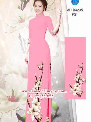 Vải áo dài Hoa Đào AD B3205