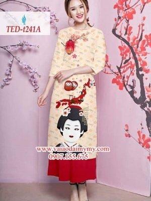 Vải áo dài cách tân đón tết AD TED T241