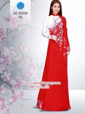 Vải áo dài Hoa Đào AD B3358