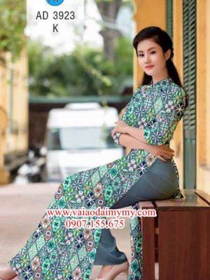 Vải áo dài Cô Ba Sài Gòn AD 3923