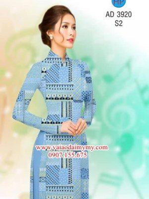 Vải áo dài Hoa văn đều AD 3920