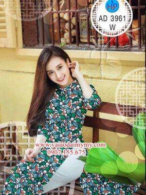 Vải áo dài Hoa đều AD 3961