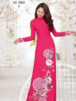 Vải áo dài Hoa Lan AD 3964