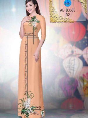 Vải áo dài Hoa Lan AD B2633