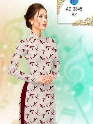 Vải áo dài Lá trúc AD 3845