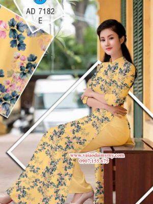 Vải áo dài Hoa nhí xinh AD 7182