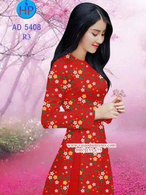 Vải áo dài Hoa nhí AD 5408