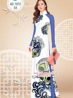 Vải áo dài Hoa văn công AD 7072