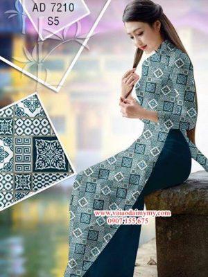 Vải áo dài Hoa văn Cô Ba Sài Gòn AD 7210