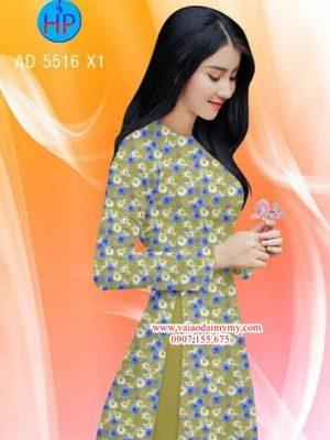 Vải áo dài Hoa Cúc AD 5516