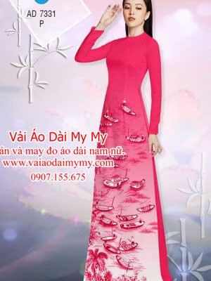 Vai Ao Dai Hinh Con Thuyen (2)