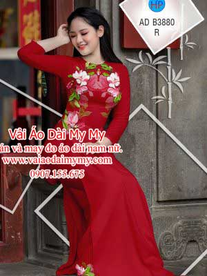 Vai Ao Dai Hoa Dep Tren Nguc Ao (2)