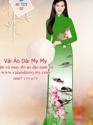 Vai Ao Dai Hoa Sen Va Phong Canh (17)