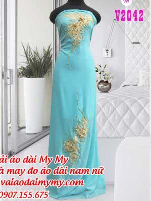 Vai Ao Dai Dinh Hoa Cho Ngoi Sui