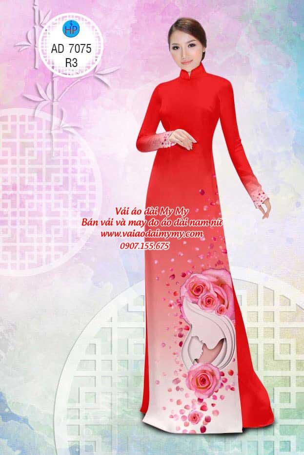 Vải áo dài Valentine 14/2 AD 7075 4