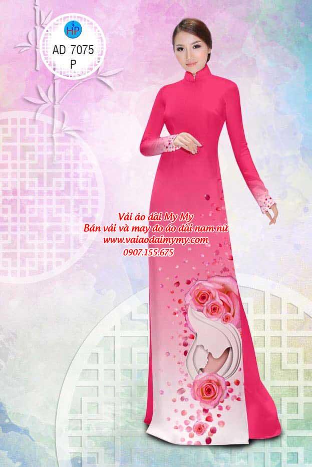 Vải áo dài Valentine 14/2 AD 7075 5