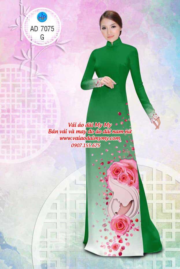 Vải áo dài Valentine 14/2 AD 7075 8