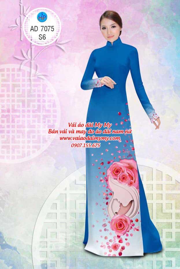 Vải áo dài Valentine 14/2 AD 7075 16