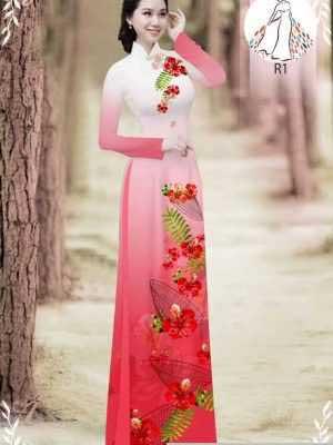 Vải áo dài hoa phượng AD 610498 30