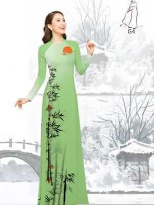 Vải áo dài tre trúc AD H10540 19