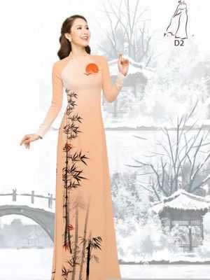 Vải áo dài tre trúc AD H10540 24