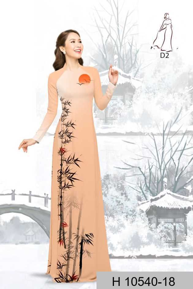 Vải áo dài tre trúc AD H10540 43