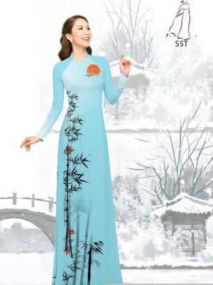 Vải áo dài tre trúc AD H10540 22