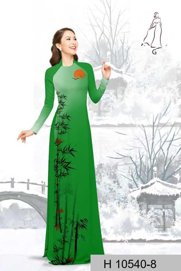 Vải áo dài tre trúc AD H10540 40