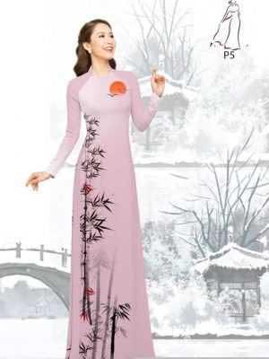 Vải áo dài tre trúc AD H10540 20